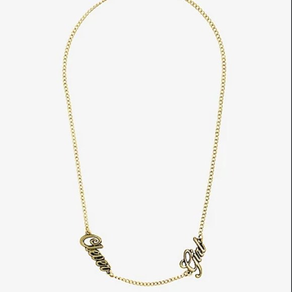 Jurassic Park Clever Girl Necklace